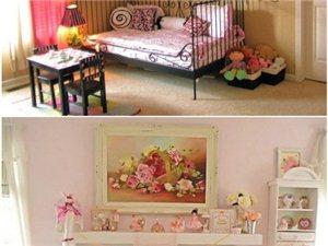 唯美儿童房,三亚天拓装修案例