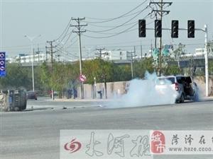 郑州郑东交通事故频发     新区多路口红绿灯不亮