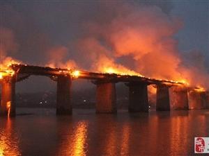 重庆濯水风雨廊桥失火烧毁