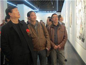 山阳美协备战国展汇报展在陕西美术馆举行