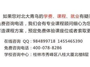 桂林北大青鸟:关于启动退伍军人计算机就业培训的通告