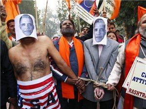 印度女外交官被美国拘留遭侮辱引发印民愤