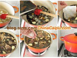 做一锅红烧牛肉抵御寒冷冬天