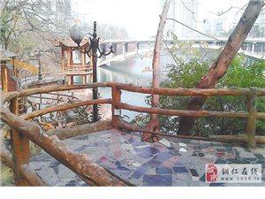 瓦窑河大桥暴露插座 存安全隐患
