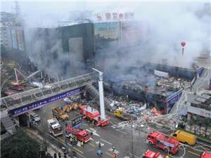 泸州商场爆燃事故已致4人死亡40人受伤