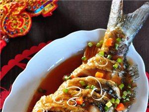预热年菜――糖醋鱼