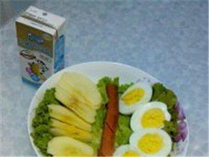 儿子的早餐