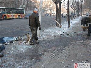 今晨北京路�c人民街十字路口北�劝l生一起重大交通事故