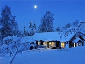 晚来天欲雪,能饮一杯无?