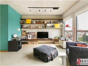 60平米全开式公寓设计