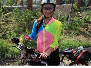 北漂女骑行1900公里回四川 一路雾霾严重引网友热议