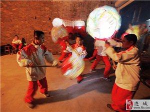 芷溪村:红龙缠柱舞新春