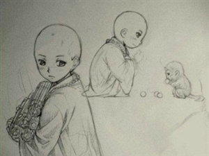 当年幼的悟空遇上年幼的唐僧