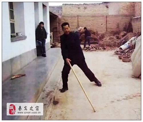 【秦安娱乐视频精选】之九:秦安壳子棍