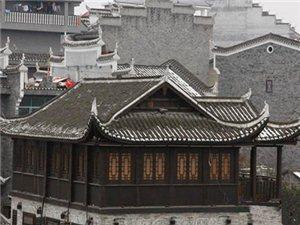 乾州古城雪景