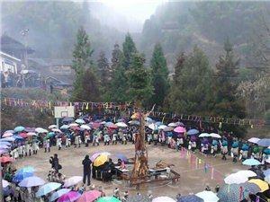2014乐里镇乔勒村春节活动