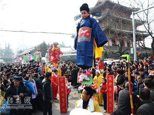 正月里合阳元宵节庙会搞的如火如荼
