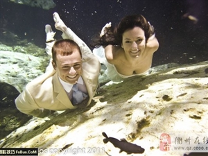 拍摄浪漫水中婚纱需要注意事项