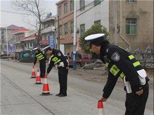 湖口交警迅速开展交警执勤执法安全防护提示培训