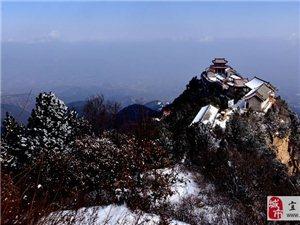 蟒头山雪景