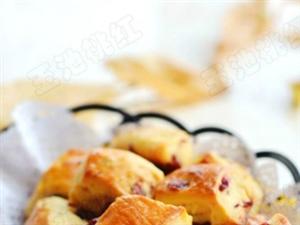 蔓越莓司康――�p松烘焙美味英式�c心