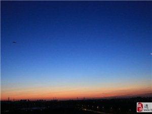 雾霾北京   蓝天重现照样很美丽