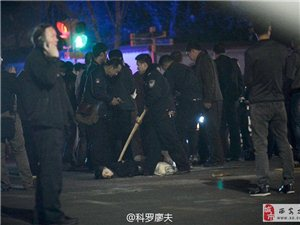 组图:云南昆明火车站发生暴力恐怖案件现场照片