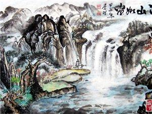 张学理漫画:江山如画