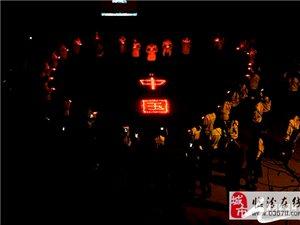师大学生为昆明遇难同胞烛光祈福