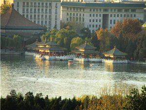 景山、故宫、角楼、北海团城