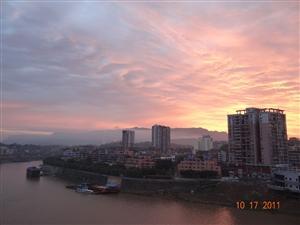赤水最美晨景