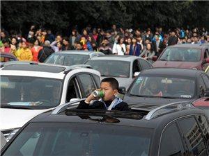 七千考生家长陪同遇堵车