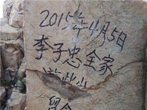涂鸦者澳门永利网站李子忠:青岛网友喊你回去洗山!