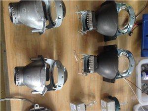河南首例-新款进口普拉多改灯-四海拉5透镜