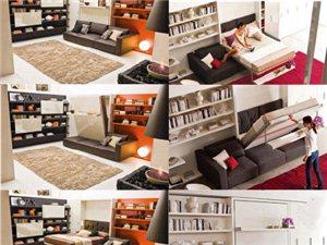 【折叠床】玩转空间的高手,只需你家的一面墙