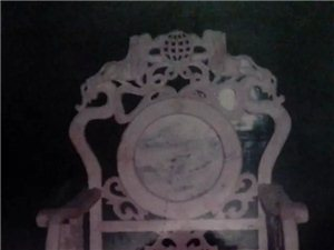 手工实木仿古家具(龙椅  狮椅整套家具 )