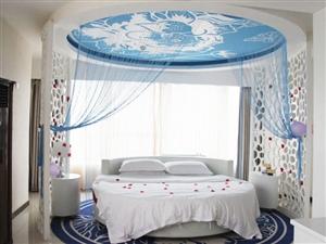 蓝色主题豪华套房