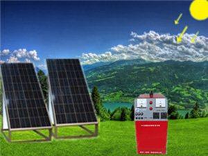101101太阳能光伏电器(A型:500W和二块太阳能板)