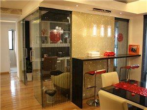 现代简约风格————玻璃马赛克与黑白对比的色彩