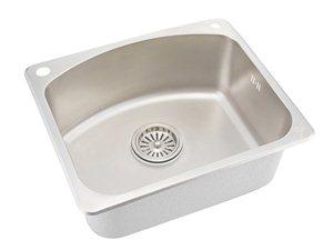 申鹭达卫浴Sunlot单盆厨房单槽表面珍珠处理不锈钢LD