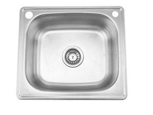 申鹭达卫浴Sunlot单厨房水槽不锈钢表面珍珠面处理