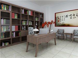紫檀松木书柜