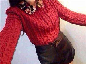2013秋冬韩版复古花朵翻领泡泡袖修身打底针织衫毛衣
