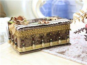 布艺纸巾盒