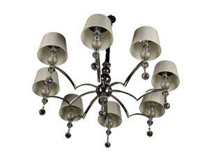 雷士照明雷士简约欧式客厅卧室餐厅水晶吊灯EFD900