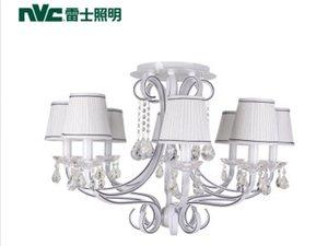 雷士照明雷士简约欧式客厅卧室餐厅水晶吊灯EFD9001