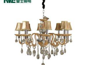 雷士照明雷士现代奢华蜡烛水晶吊灯吊灯EFD9006