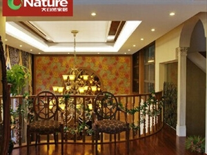 大自然地板多层实木复合地板大美木豆15mm定制适合地暖