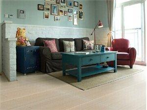 大自然地板强化复合木地板12.2mm丝韵白橡耐磨好打理