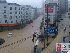 2013年7.18苍溪暴雨洪水全记录